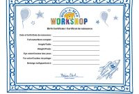Build A Bear Birth Certificate Template 2