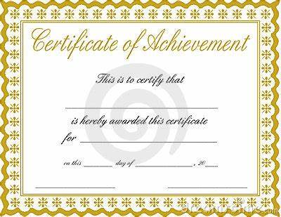 Certificate Of Accomplishment Template Free 2