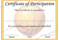 Certificate Of Participation Template Pdf 10