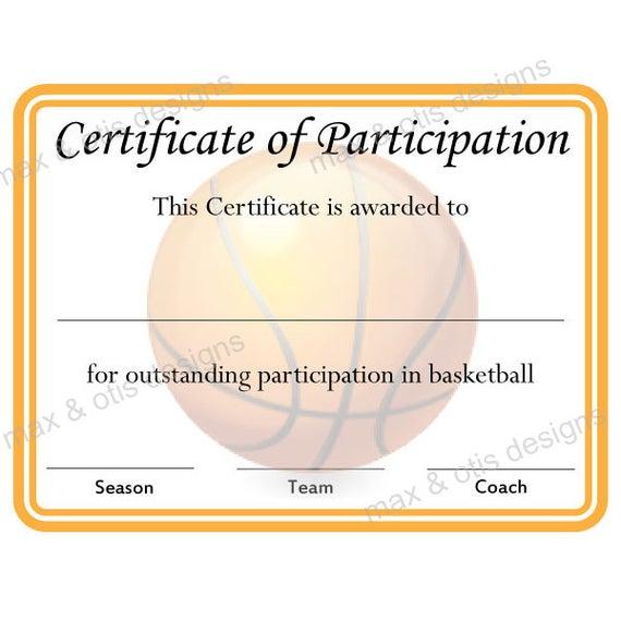 Certificate Of Participation Template Pdf 10