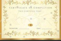 Certificate Scroll Template 10