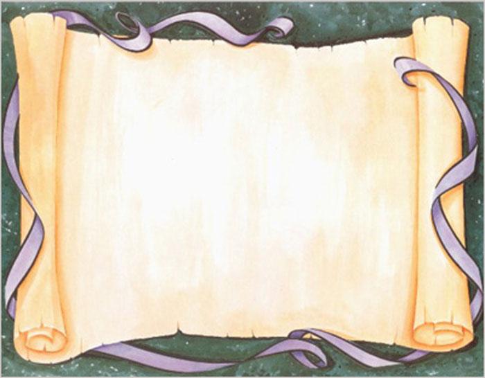 Certificate Scroll Template 7