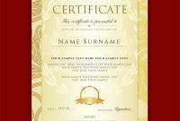 Certificate Scroll Template 9