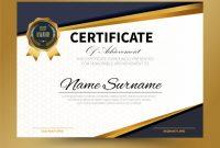 Certificate Template Size 2