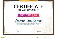 Certificate Template Size 3