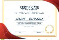 Certificate Template Size 7
