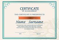 Certificate Template Size 9