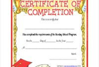 Certificate Templates for School