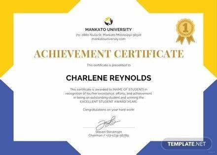 Certificate Templates For School 5