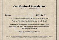 Ceu Certificate Template 13