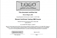 Ceu Certificate Template 6