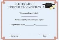 Ceu Certificate Template 8