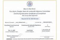 Ceu Certificate Template 9