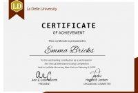 College Graduation Certificate Template 10