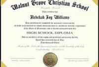 College Graduation Certificate Template 11