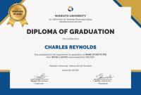 College Graduation Certificate Template 12
