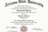 College Graduation Certificate Template 4