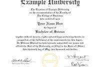 College Graduation Certificate Template 9