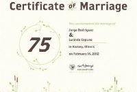 Commemorative Certificate Template 2