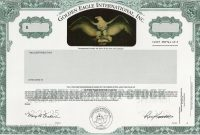 Corporate Bond Certificate Template 12