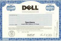 Corporate Bond Certificate Template 6