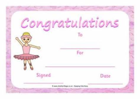 Dance Certificate Template 15
