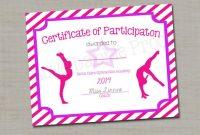 Dance Certificate Template 6