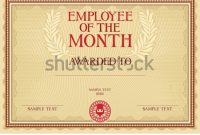 Employee Of the Month Certificate Template with Picture 7