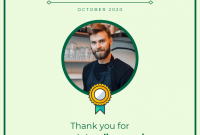 Employee Of the Month Certificate Template with Picture 8