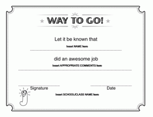 Free Certificate Templates For Word 2007 8