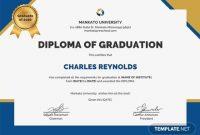 Free Printable Graduation Certificate Templatesv 11