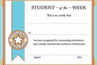 Free Student Certificate Templates 4