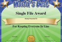 Fun Certificate Templates 10