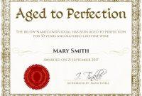 Fun Certificate Templates 7