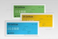 Gift Certificate Template Indesign 10