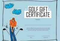 Golf Certificate Template Free 2