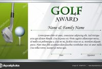 Golf Certificate Template Free 9