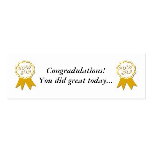 Good Job Certificate Template 9