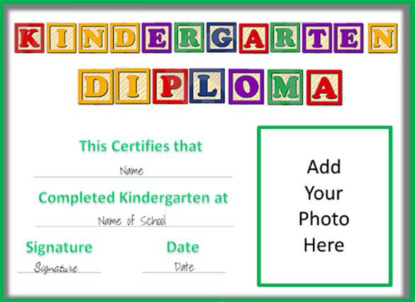 Graduation Certificate Template Word 10
