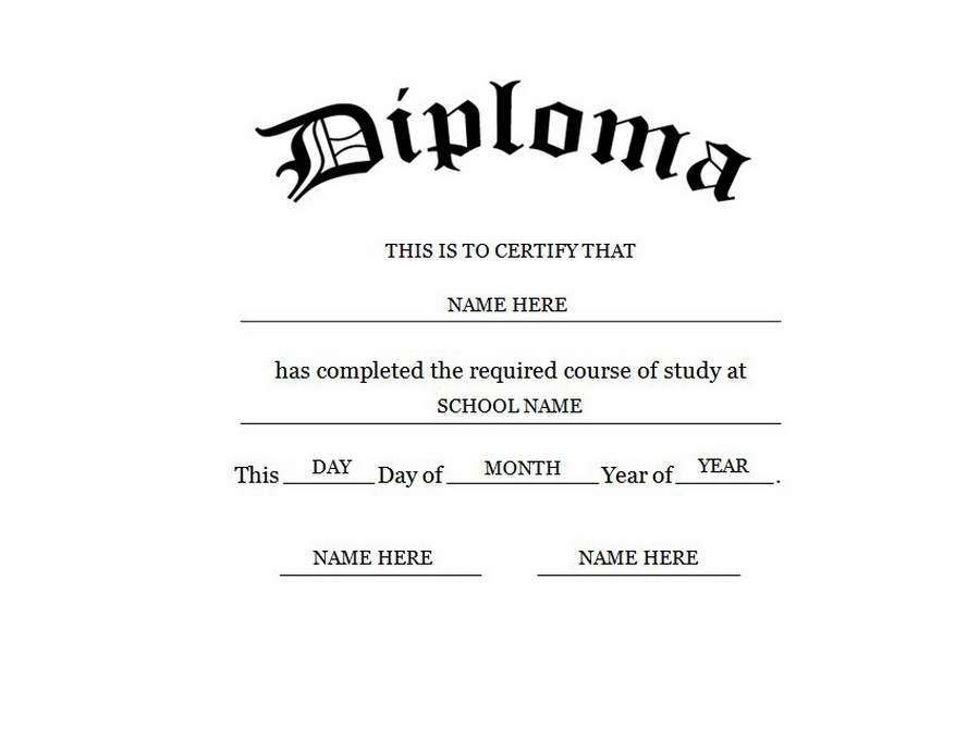 Graduation Certificate Template Word 11