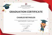 Graduation Certificate Template Word 3
