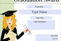 Graduation Gift Certificate Template Free 4