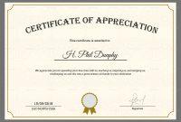Gratitude Certificate Template 5