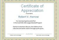 Gratitude Certificate Template 6