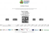 Hard Drive Destruction Certificate Template 9