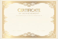 High Resolution Certificate Template 4