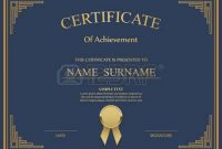 High Resolution Certificate Template 5
