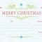 Homemade Christmas Gift Certificates Templates 7