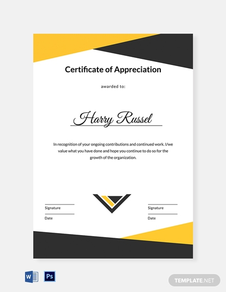 Indesign Certificate Template 10