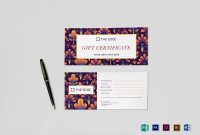 Indesign Gift Certificate Template 2